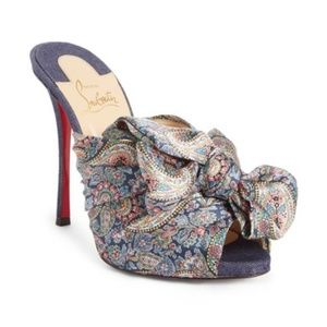 Christian Louboutin Multicolor 'moniquissima' 7B